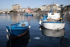 Villad'Elboeuf, porto del Granatello Portici Royaltyfria Bilder