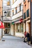 Villadiego, Бургос, Castilià «и Леон, Испания Стоковое фото RF