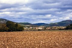 "Villadiego, Burgos, Castilià ""e Leon, Espanha Fotografia de Stock Royalty Free"