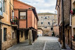 Villadiego, Burgos, Castilië and Leon, Spain Stock Photography