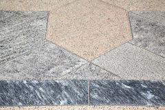 Villadosia street   pavement of a curch and marble Royalty Free Stock Image