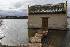 Villafáfila's lagoons in Zamora Stock Images