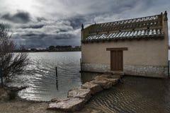 Villafáfila's lagoons in Zamora Stock Photos