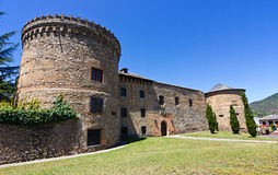 Villafranca Castle Stock Photos