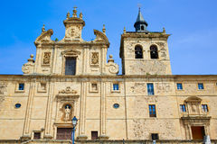Villafranca del Bierzo por el santo James Leon Fotografía de archivo