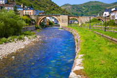 Villafranca del Bierzo by Way of Saint James Stock Images