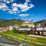 Villafranca del Bierzo by Way of Saint James Leon Royalty Free Stock Photos