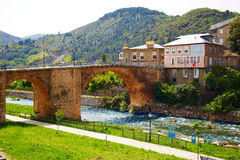Villafranca del Bierzo by Way of Saint James Leon Royalty Free Stock Photo