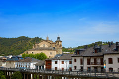 Villafranca del Bierzo by Way of Saint James Leon Stock Photo