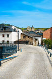 Villafranca del Bierzo by Way of Saint James Leon Stock Photos