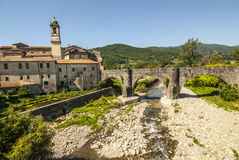 Villafranca in Lunigiana (Tuscany) Royalty Free Stock Images