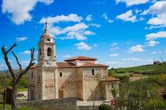 Villafranca Montes de Oca Way of Saint James. Villafranca Montes de Oca by the Way of Saint James in Castilla Burgos stock photography