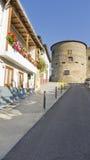 Villafranca, visión urbana, España. Imágenes de archivo libres de regalías