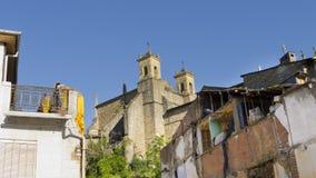 Villafranca, visión urbana, España. Fotografía de archivo