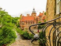 Village,爱丁堡市和旅游胜地的中世纪村庄教务长 爱丁堡,苏格兰,英国 库存图片