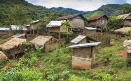 Village à distance Photographie stock libre de droits