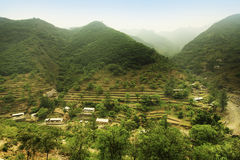 Village à Pékin Photographie stock libre de droits