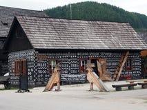 Village, Čičmany Stock Photo