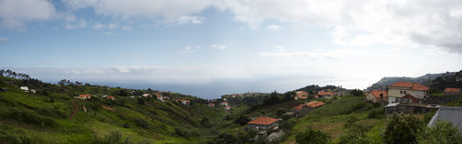 Village. Panorama Royalty Free Stock Image