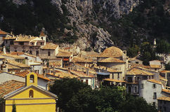 Village. Peille village in provence france Stock Photography