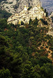 Village. Peillon village provence france in europe Royalty Free Stock Photo