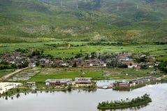 Village. Small village in Yunnan China Royalty Free Stock Images