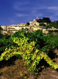 Village. A hilltop village in provence france Stock Photo