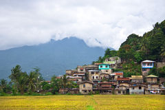 Village. Hillside village in the Philippes Stock Images