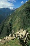 Village abandonné d'Inca Photographie stock