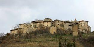 village abandonné du Latium Images stock