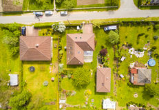 Village from above. Royalty Free Stock Photos