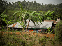 Village africain Photo stock