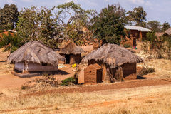 Village africain Photo libre de droits