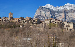 Village of Ainsa Stock Image