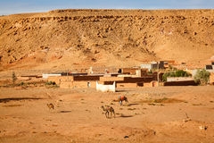 Village of Ait Ben Haddou in Morocco Stock Photo