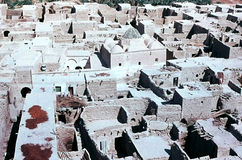Village, Algeria. View of roofs in a village in Algeria Stock Images