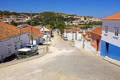 Village Aljezur in Portugal Royalty Free Stock Images