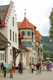 Village allemand Photographie stock