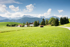 Village in the Allgaeu Stock Images