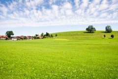 Village in the Allgaeu Stock Photo