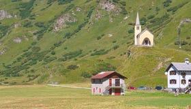 Village alpin Photo libre de droits