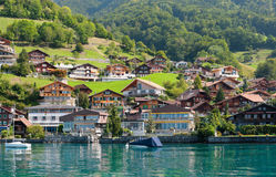 Village in the Alps Stock Image