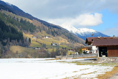 Village in Alps. Austria. Stock Images