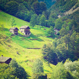 Village in Alps Royalty Free Stock Photo