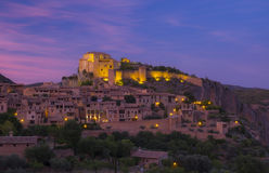 Village of Alquezar in the province of Huesca, Spain Royalty Free Stock Photos