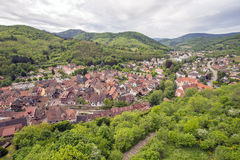 Village in Alsace,France Stock Photography