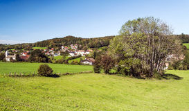 Village of Alsace Stock Photography