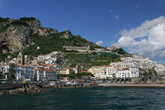 The village of Amalfi Royalty Free Stock Image