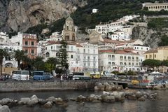 The Village of Amalfi Royalty Free Stock Photography