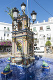 Village andalou, Espagne Photo stock